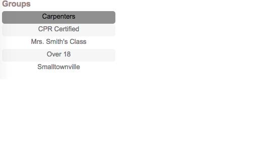 online volunteer management database categories